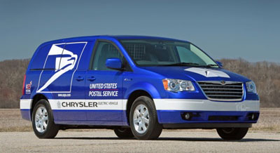 USPS Alternative Fuel Vehicles