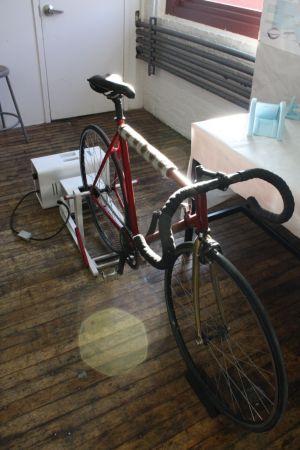 bicycle generator