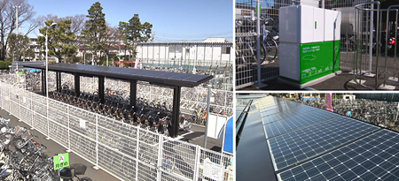 Sanyo Solar Bike Lots