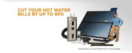sunward solar hot water system