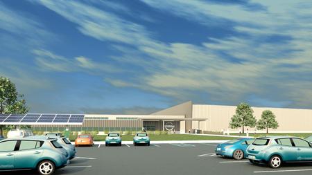 Nissan Leaf plant
