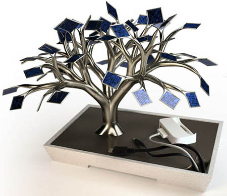 Solar-Tree-Charger