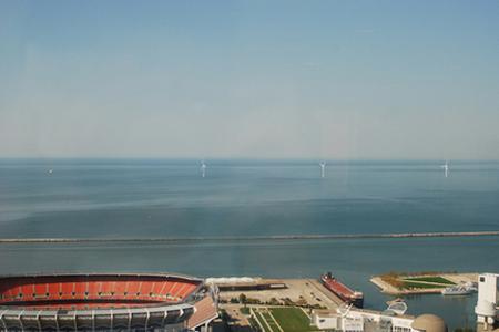 Turbines Lake Erie