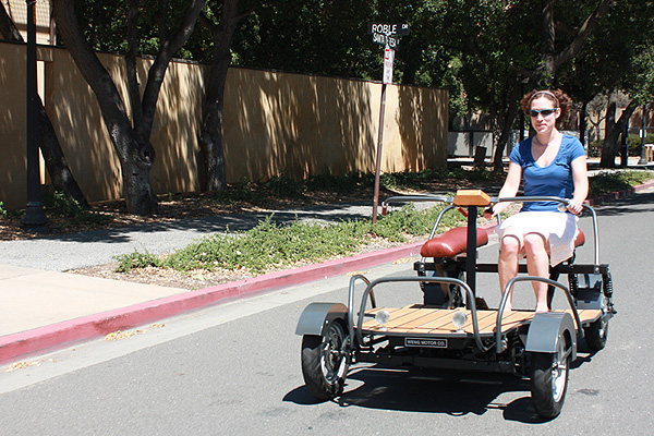 Stanford Electric car