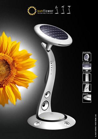 Sunflower-Power-Music-System