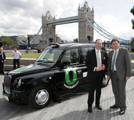 London Fuel Cell Taxi