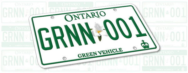 Ontario Green Car