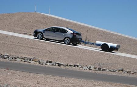 Chevy Volt Desert