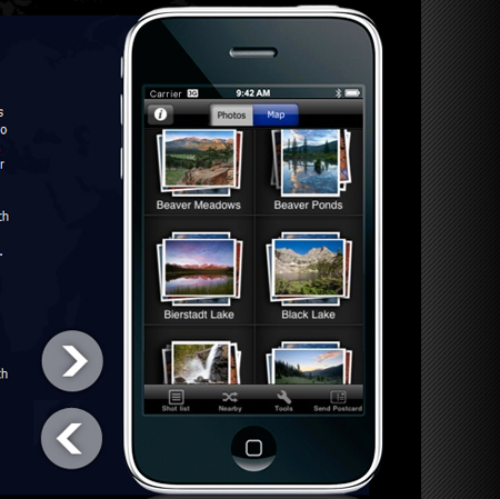 iPhone National Park Photo Guides