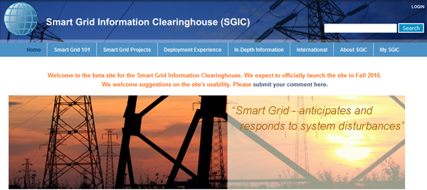 Smart Grid Information Clearinghouse