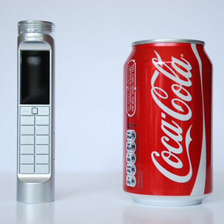 Cell phone Coke
