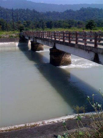 Chilla Canal, India