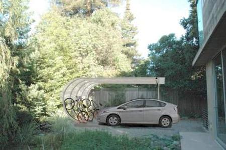 Car Arc Solar Carport