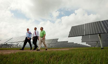 Solar Panels White House