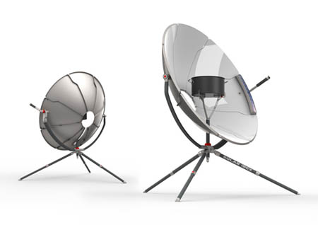 Solar Ibex solar cooker
