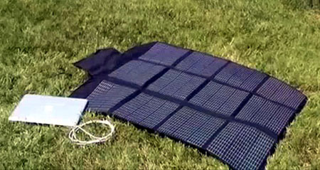 AppleJuice Solar Charger