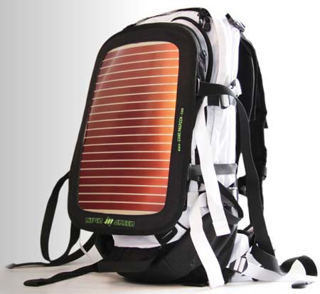 Neon Green Soular Backpack