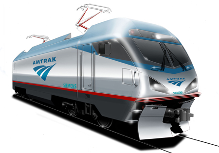 Amtrak Siemens