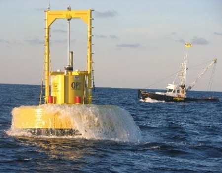 image via Ocean Power Technologies