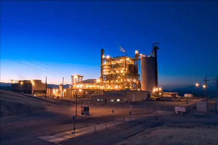 Mt. Poso Cogneration Plant, Bakersfield, California