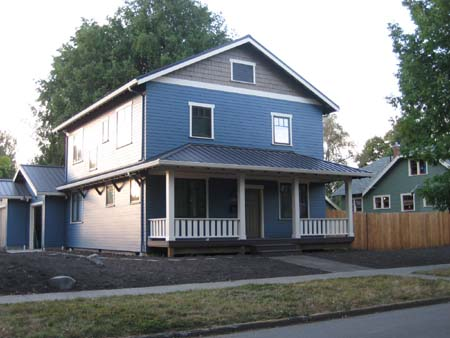 Passive House_Salem, Oregon