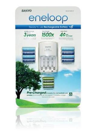 Sanyo Eneloop Rechargeable Batteries