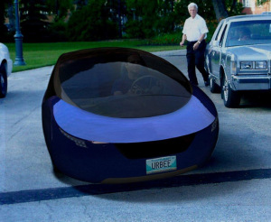 Urbee_Hybrid Car