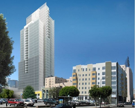 Alice St. Energy Harvester, proposed Oakland condo tower