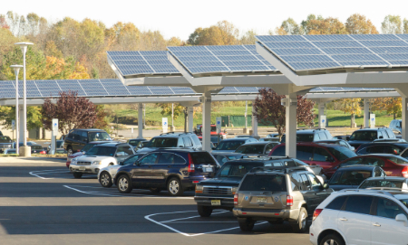 Dow Jones solar installation, South Brunswich, New Jersey