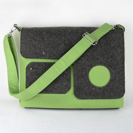 Eco Portable Media Laptop Bag