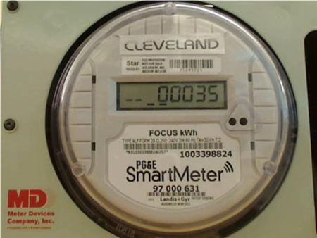 smart meter, PG&E