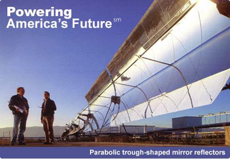 Solar Millennium, Blythe project, parabolic trough