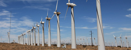 Southern California Edison, Tehachapi wind power