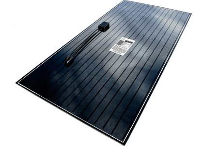 Cadmium telluride thin-film solar panel, Abound Solar