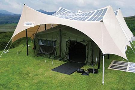 Army Solar Tents
