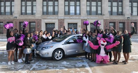 Chevrolet Volt Auction w/Detroit Students