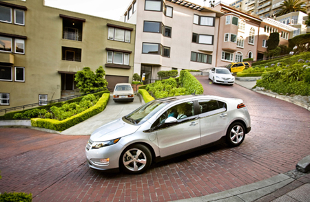 electric vehicles, chevy volt, pike research 2011 forecast