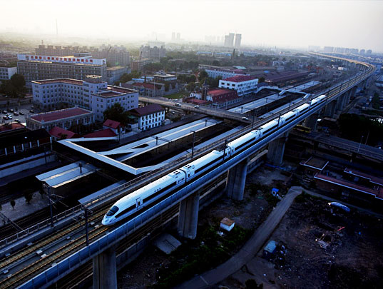 China hydrogen fuel-cell light rail locomotive
