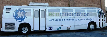 Electric bus, GE