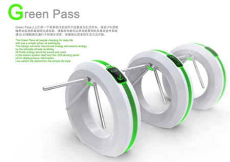 Green Pass kinetic energy