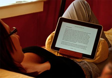 Lap Dog iPad stand