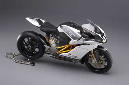 Mission R electric motorcycle