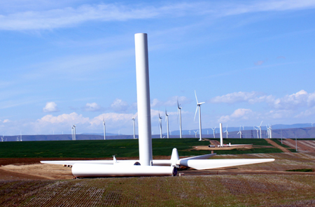 Oregon's Biglow Canyon Wind Farm