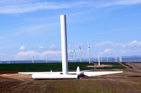 Oregon's Biglow Canyon Wind Farm