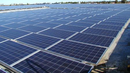 solar panels, Lancaster, California, Del Sur Solar