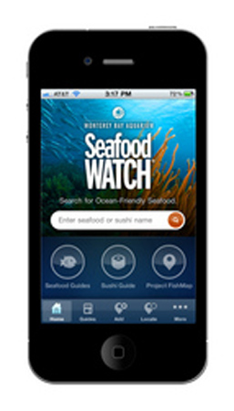 Seafood WATCH iPhone app