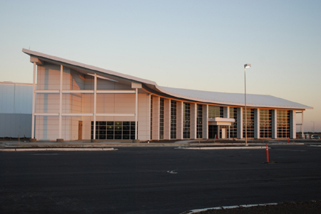 Siemens Wind Power Nacelle Facility in Hutchinson, Kansas - SageGlass