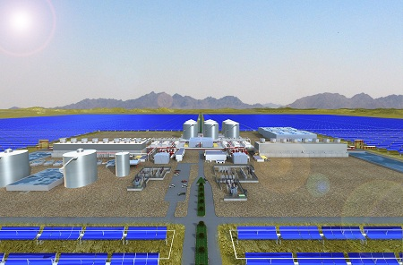 Solana solar project, Arizona, Abengoa Solar