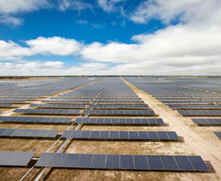 SunPower solar plant