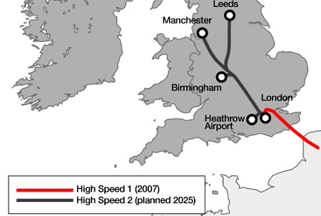 United Kingdom, High Speed Two, High Speed Rail, London, Leeds, Manchester, England, Conservative, Government